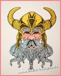 Stickdatei Viking Warrior...