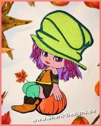 Stickdatei Cute Pumpkin in...