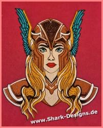 Stickdatei Viking Queen in...