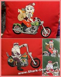 Easy-Rider-Santa with Mrs....