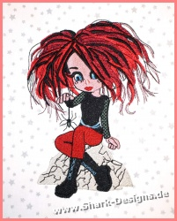 Embroidery file Gothic...