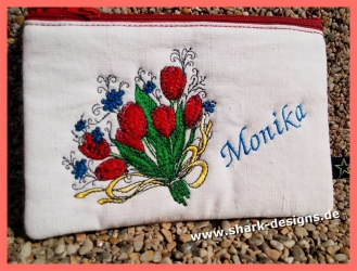 Embroidery Design Tulips...