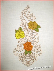 Embroidery Design Rose Zen...
