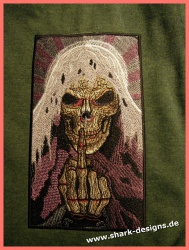 Embroidery Design THE SKULL...