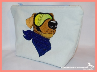 Embroidery Design Moto-Dog...