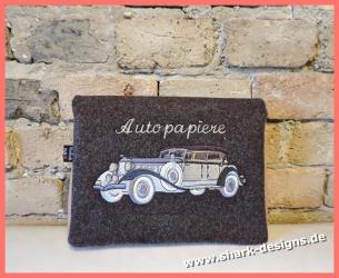 Embroidery Design White Car...