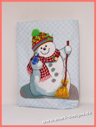 Embroidery Design  Snowman...