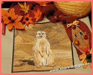 Embroidery design meerkat...