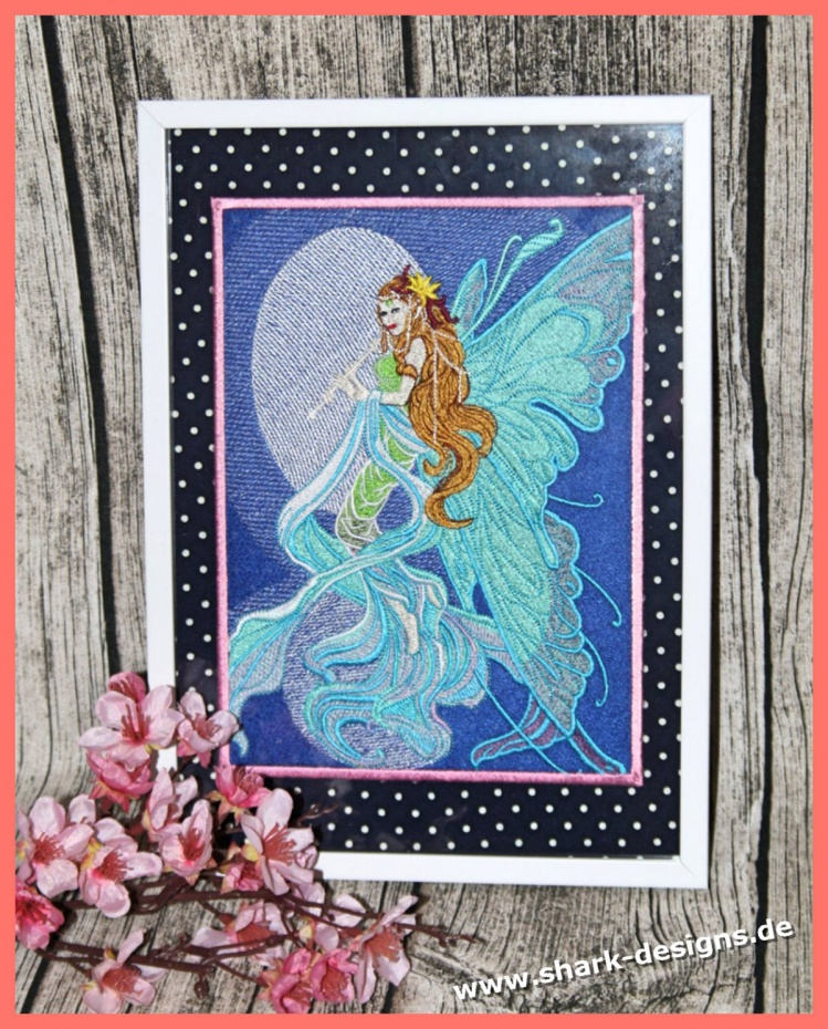 Embroidery Design Sky Angel...