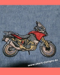 Embroidery file Bike 6, the...