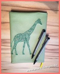 Stickdatei Line Art Giraffe