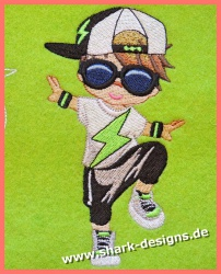 Hip Hop Boy in 6 coolen Größen