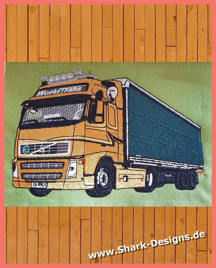 Embroidery file Truck 1, a...