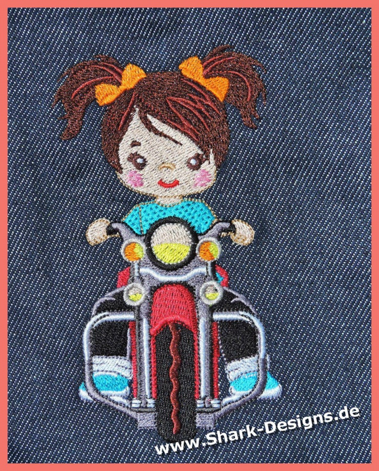 Mujkas Biker Girl in 6...