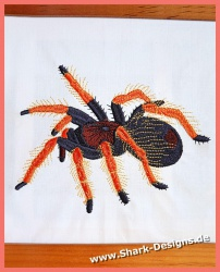 Embroidery file Tarantula...