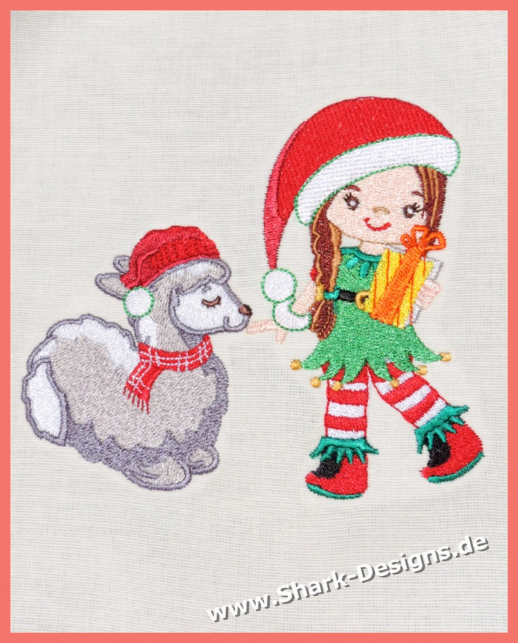 Embroidery file Elf Girlie...