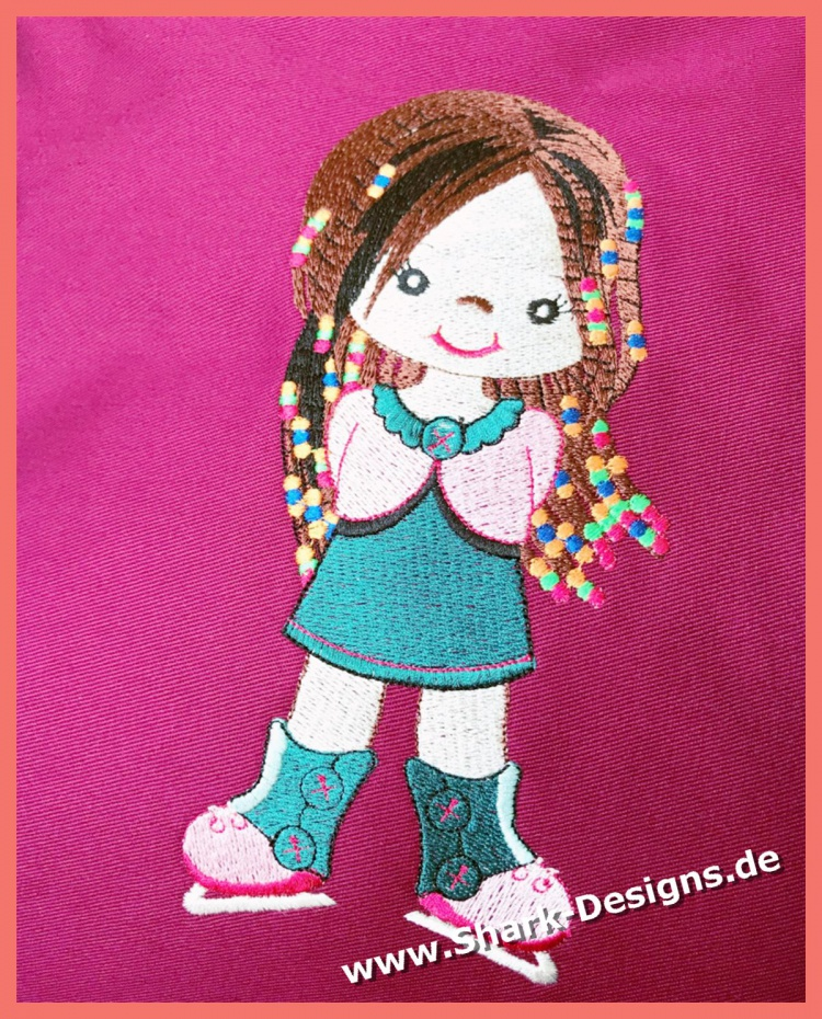 Embroidery file Ice Dancer,...