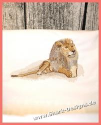 Stickdatei Lion, der König...