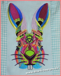 Ethnic Winter Bunny, denn...