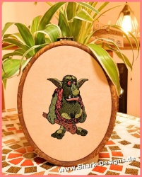 Hobo Goblin embroidery...