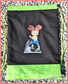 Stepper Girlie embroidery...