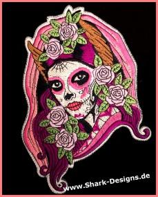 Embroidery file La Catrina...