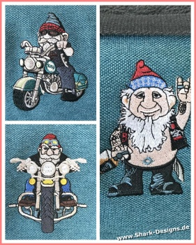 The Biker Gnomes, cool...