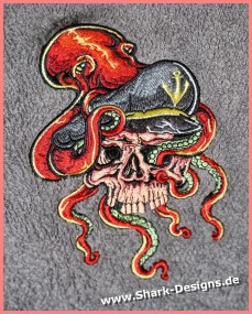 Embroidery file Skull...