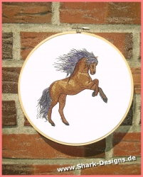 Embroidery file wild horse...