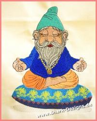 Embroidery file Zen Gnome...