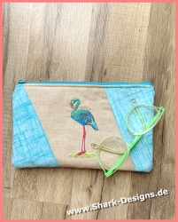 Embroidery file Flamingo in...