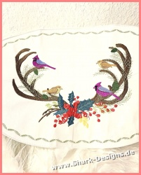 Embroidery file Winterbirds...