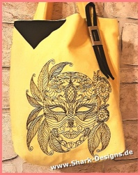 Stickdatei Line Art Maske...