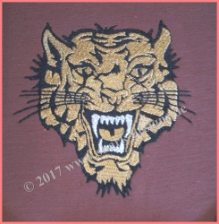 Embroidery file Tiger