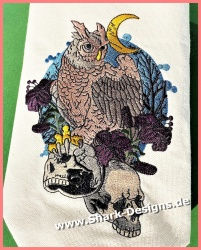 Embroidery file Night Owl...