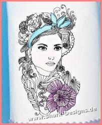 Embroidery file Viktoria in...