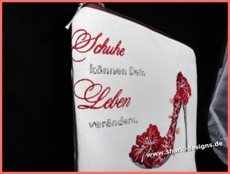 Stickdatei High Heel,  6...
