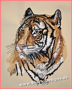 Embroidery file Tiger 2 in...