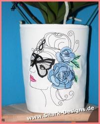 Embroidery file Masquerade