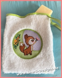Fox patch in 6 adorable sizes