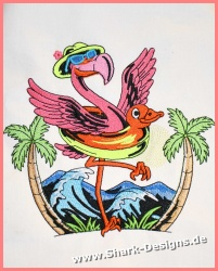 Happy-Flamingo in 8...