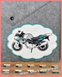 Stickdatei Bike-8, Motorrad...