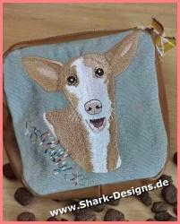 Embroidery file Podenco, a...