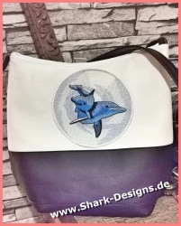 Embroidery file dolphin...