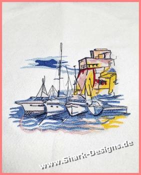 Embroidery file Casa sul...