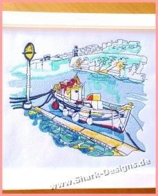 Stickdatei Porto siciliano,...
