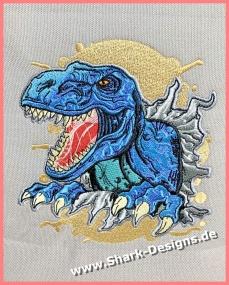Dino Tino, the embroidery...