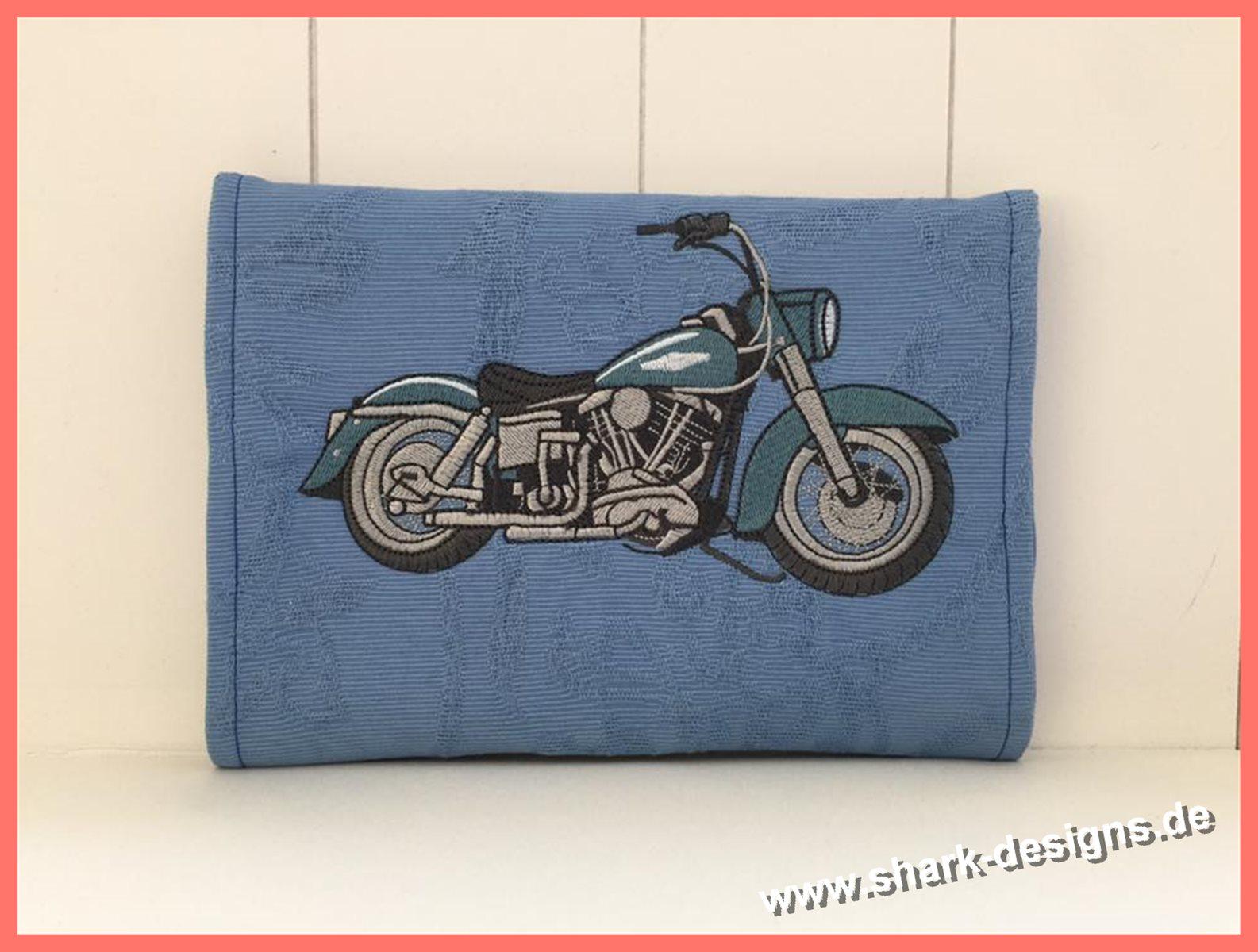 Bike 2, ein norstalgisches Motorrad der Marke Harley Davidson