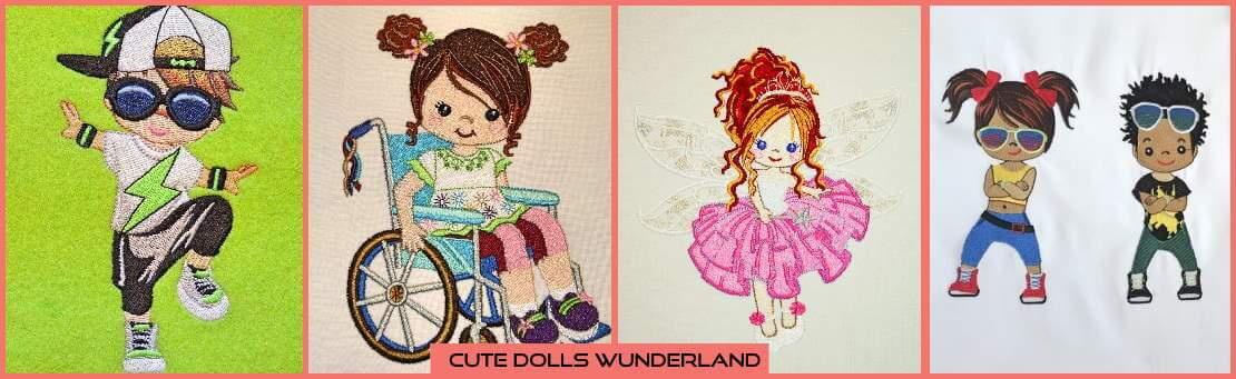 Eine eigene kleine Welt, in der sich alles um Dolls von Mujka und ihre Freunde dreht. Hier schlagen nicht nur Kinderherzen schneller!