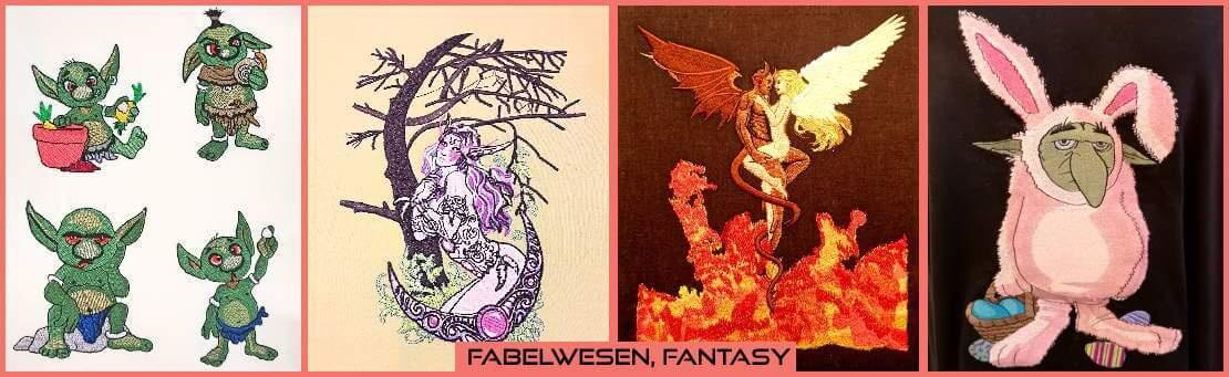 Von Elfen über Drachen bis zu Goblins - dies ist der Ort für alle fantastischen Wesen!